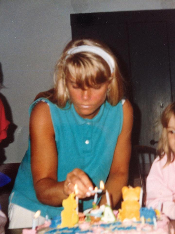 Fran senior cape cod lighting birthday candles