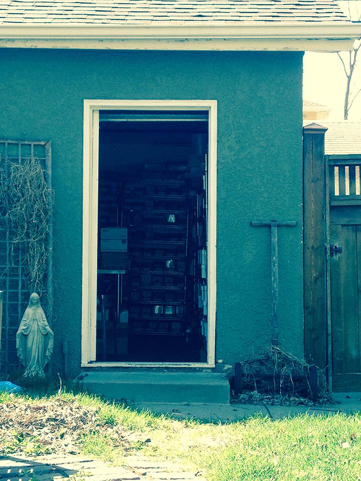 GARAGE OPEN DOOR spring 2015