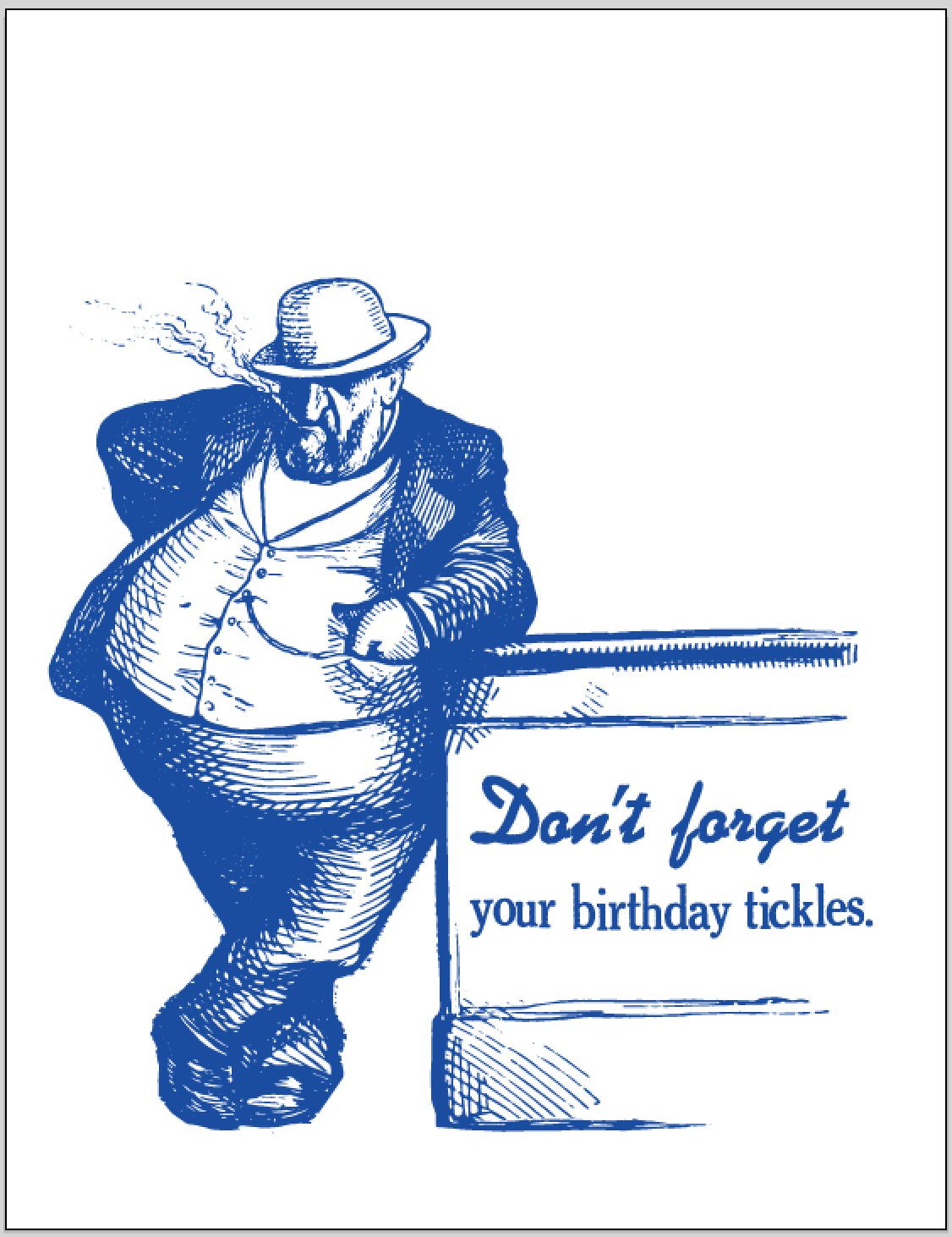birthday tickles revised