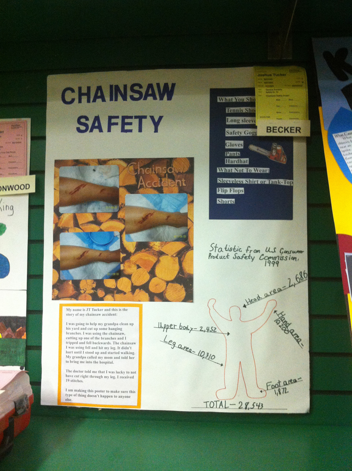 chainsaw-board
