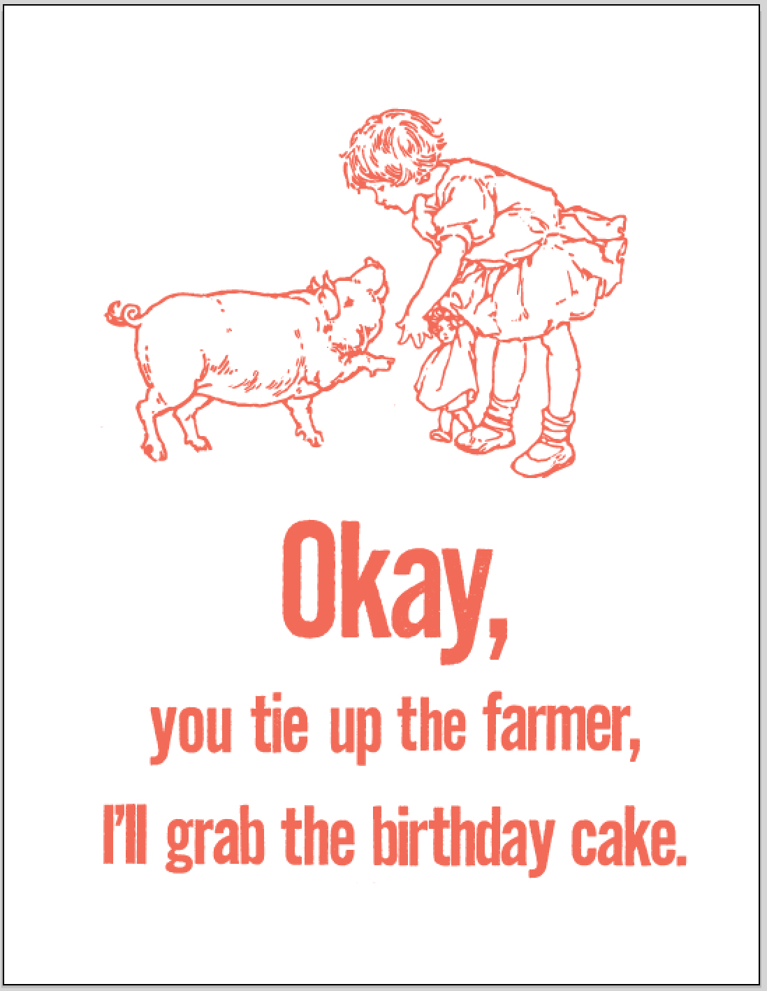 farmer birthday cake