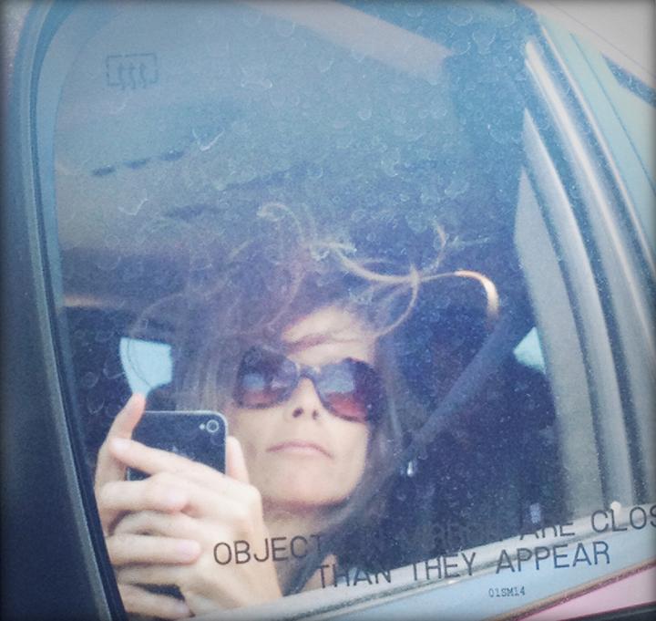 fran medusa hair selfie cape cod