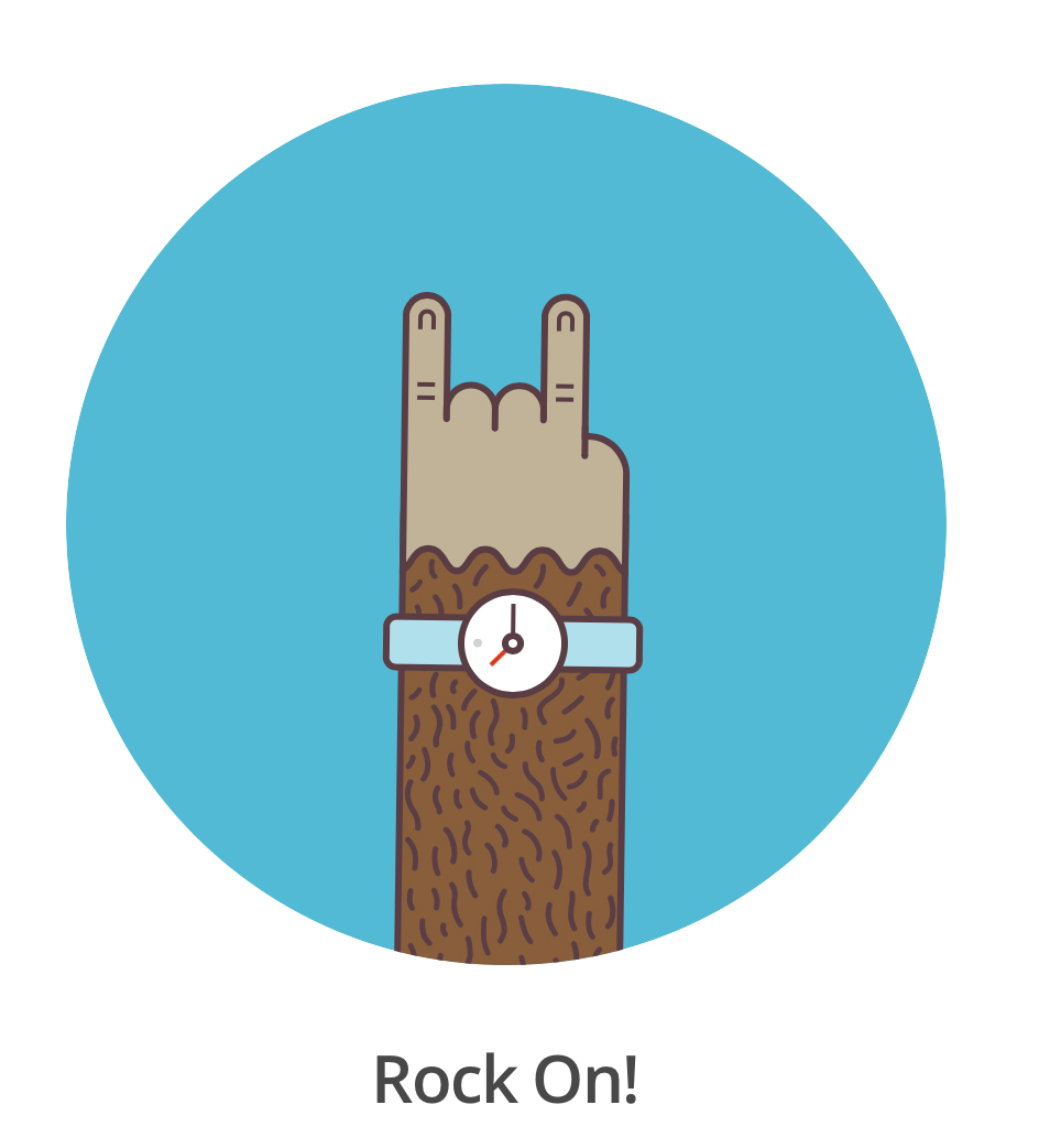 mail chimp rock on