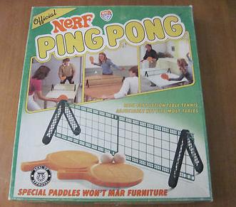 nerf ping pong