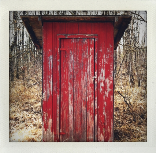 red-outhouse