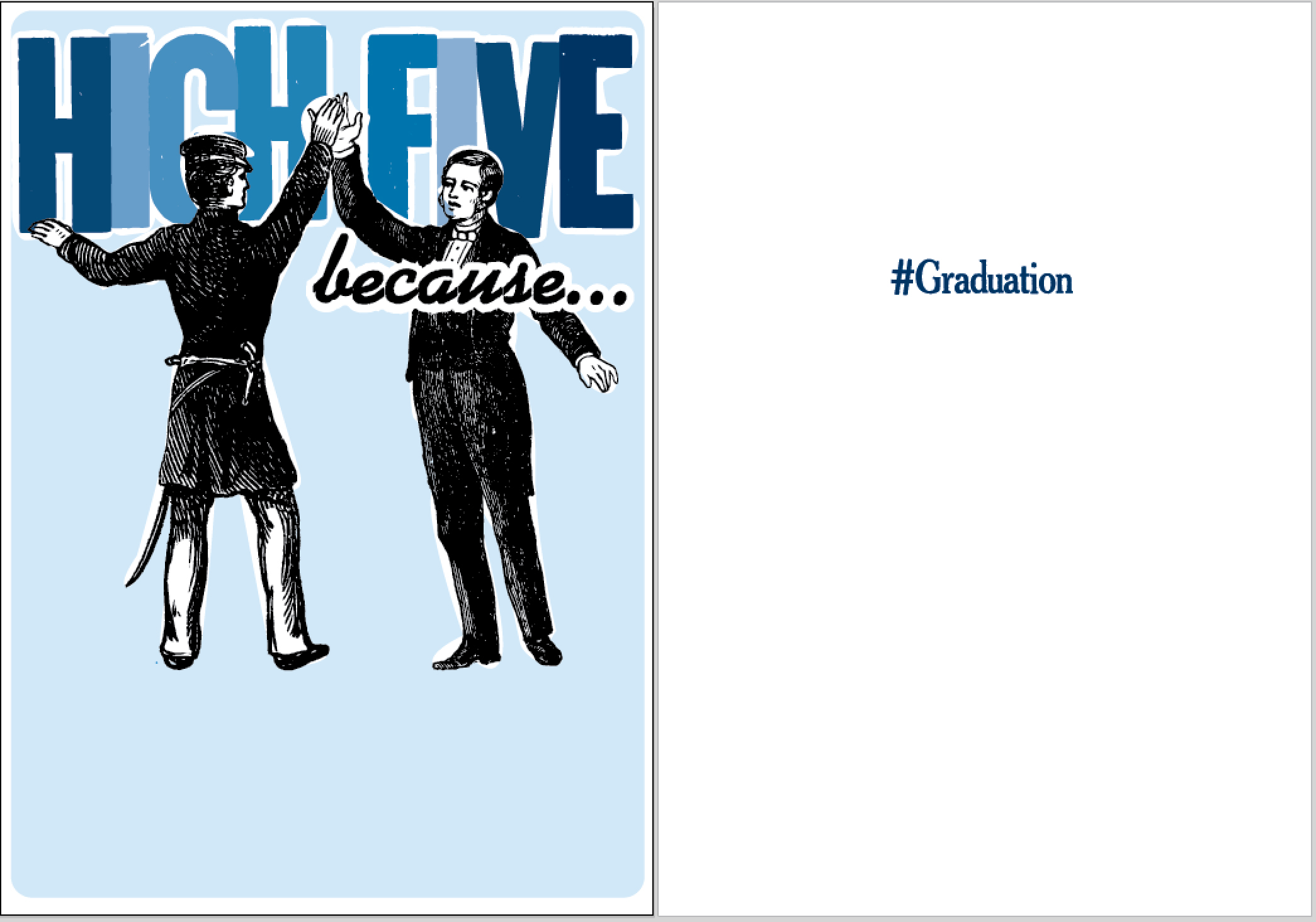 rsvp.high five graduation
