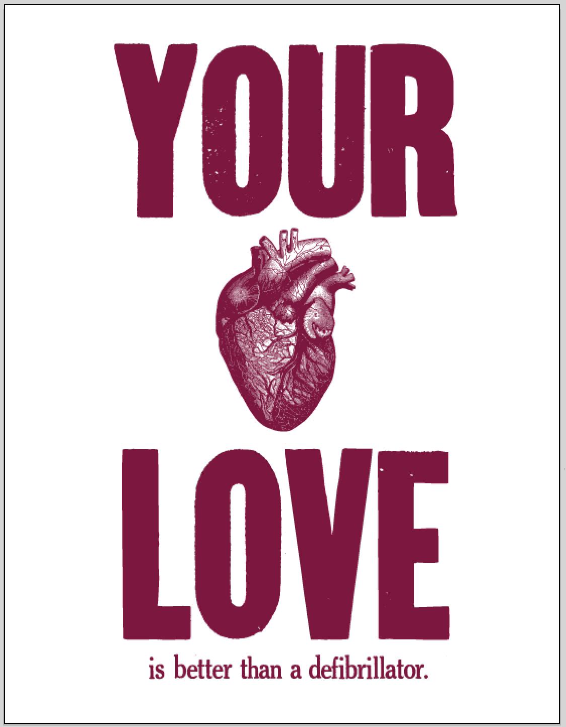 *your love.defib.vert
