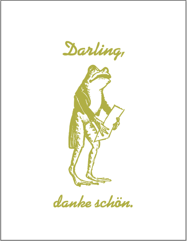 darling-danke-schon