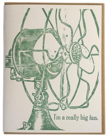 I'm a really big fan.