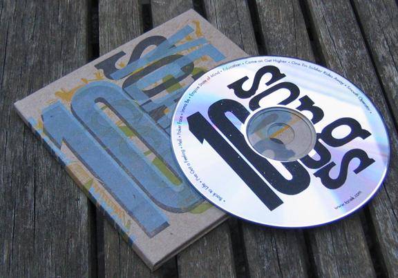 Tanek 10 Year Party CD Sleeve