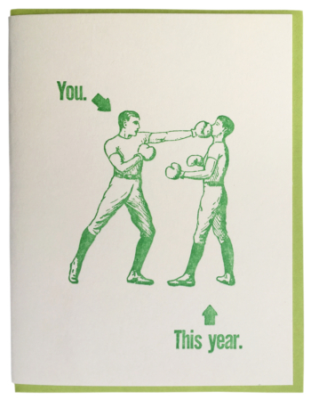 You. This year.